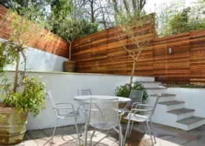 Contemporary landscaping Primrose Hill NW1