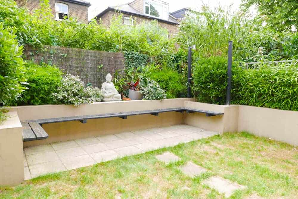 london garden staging services garden before project